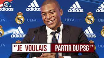 Image d'aperçu pour  Mbappé : ''Je voulais partir du PSG'' // Analyse de ses déclarations