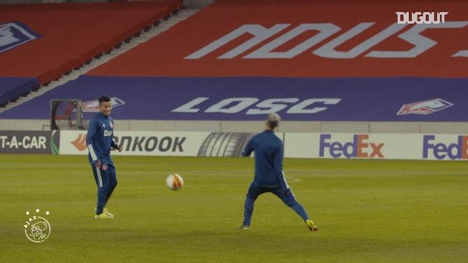 Grandes momentos de Antony y David Neres con el Ajax en la 20/21