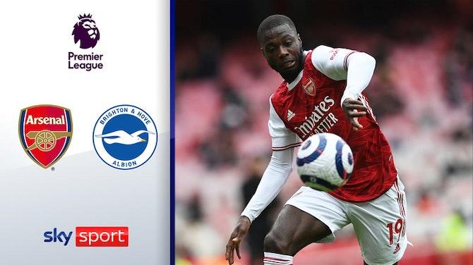 Pépé im Doppelpack! | Highlights: FC Arsenal - Brighton & Hove 2:0