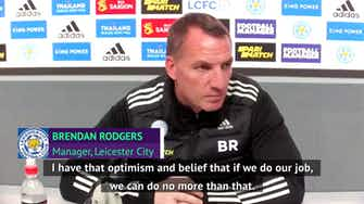 Preview image for Leicester's top-four race 'not over yet', says Rodgers