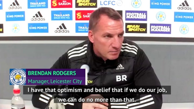 Leicester's top-four race 'not over yet', says Rodgers