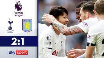 Vorschaubild für Son stark! Höjbjerg trifft | Highlights: Tottenham - Villa 2:1