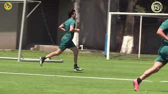 Imagen de vista previa para Santiago Solari marca en el partido del staff del Club América