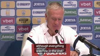 Preview image for Deschamps wants professional display in Kiev