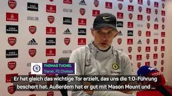 """Vorschaubild für Tuchel lobt Torschütze Lukaku: """"Sehr gutes Debüt"""""""