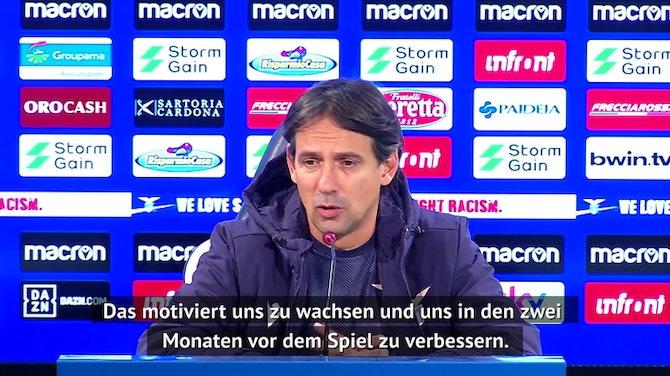 Vorschaubild für Inzaghi: Bayern-Duell motiviert uns