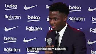 """Image d'aperçu pour Barça - Fati : """"J'ai toujours voulu rester"""""""