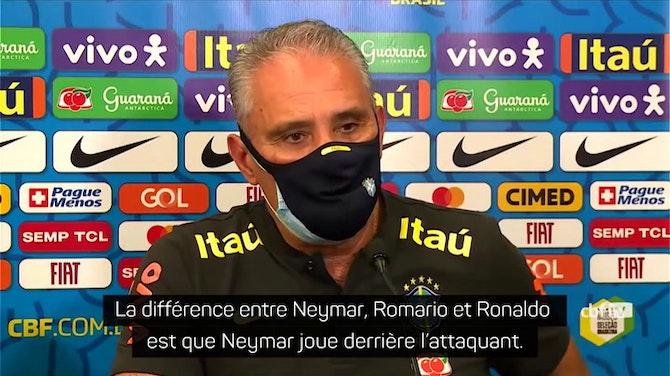 """Copa America 2021 - Tite : """"Le football de Neymar a grandi et évolué au fil du temps"""""""