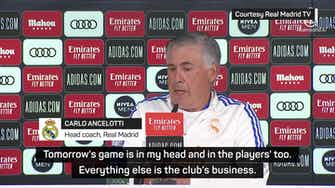 Preview image for Ancelotti praises 'great' Mbappe amid ongoing transfer rumours