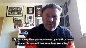 """Image d'aperçu pour Angleterre - Waddle sur les auteurs de violence à Wembley : """"Bannissez-les à vie !"""""""