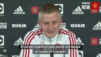 """Image d'aperçu pour 9e j. - Solskjær : """"Presque impossible de défendre contre Liverpool"""""""