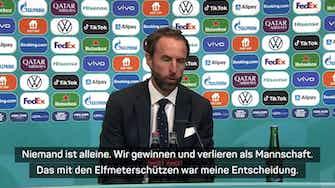 """Vorschaubild für Southgate: """"Elfmeterschützen meine Entscheidung"""""""
