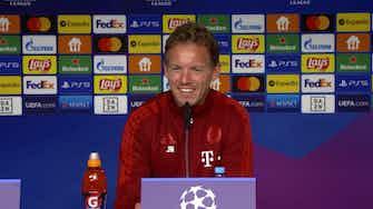"""Vorschaubild für Spielertrainer bei Bayern? Nagelsmann hat Spaß am """"Daddeln"""""""