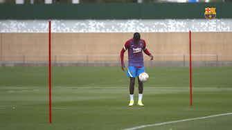 Imagem de visualização para Dembélé volta a treinar, e Ansu Fati fica perto de retorno ao Barça