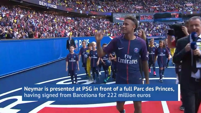 Preview image for  Neymar - Made in Paris