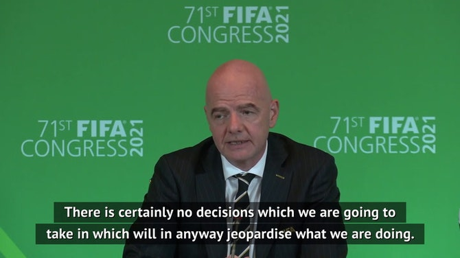 Preview image for Infantino keeping an 'open mind' on biennial World Cups
