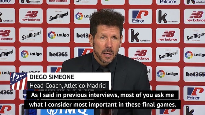 Simeone points to lack of Aleti mental toughness after slip-up