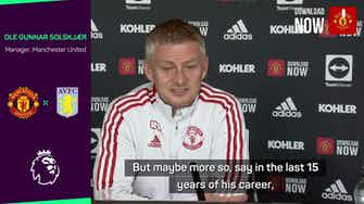 Preview image for Ronaldo is used to the attention - Solskjaer