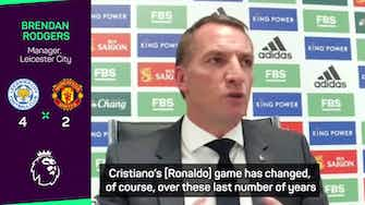 """Preview image for Ronaldo """"an advocate"""" and """"role model"""" for all players - Rodgers"""
