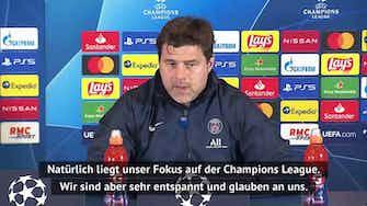 """Vorschaubild für Pochettino vor City: """"Schwerer als gegen Bayern"""""""