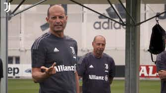 Imagen de vista previa para La Juventus de Allegri se prepara para la 21/22