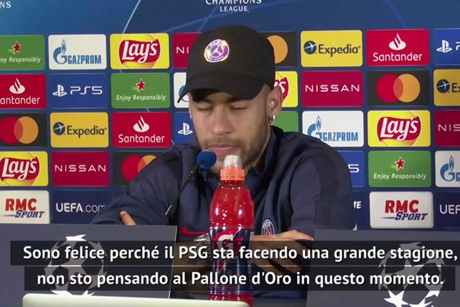 """Neymar: """"Non penso al Pallone d'Oro. A Mbappé dico..."""""""