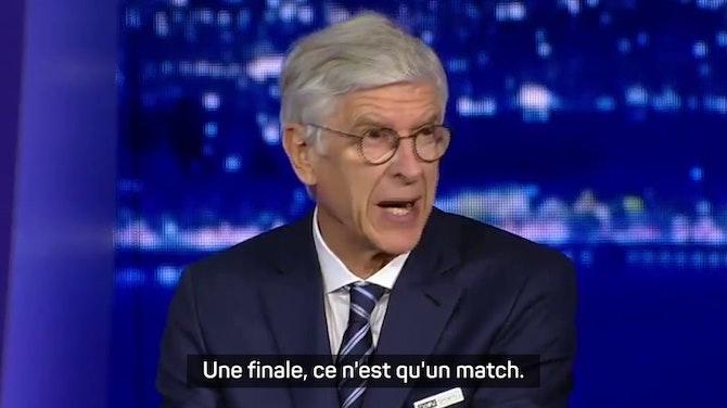 """Image d'aperçu pour Finale - Wenger : """"Chelsea mérite sa victoire"""""""