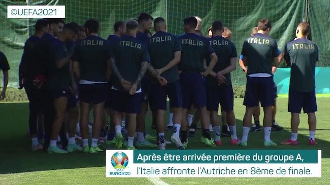 Image d'aperçu pour 8es - Présentation de Italie vs. Autriche