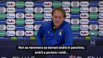 "Anteprima immagine per Pandora Papers, Mancini scherza: ""Niente panchina domani, vado a portare i soldi..."""