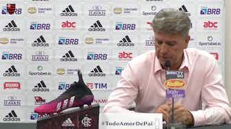 Imagem de visualização para Renato Gaúcho comenta disputa com Palmeiras e Atlético-MG