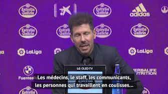 """Image d'aperçu pour 38e j. - Simeone : """"Un énorme effort collectif"""""""