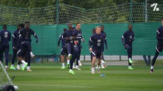 Preview image for Camavinga on focus training session with U21 french team