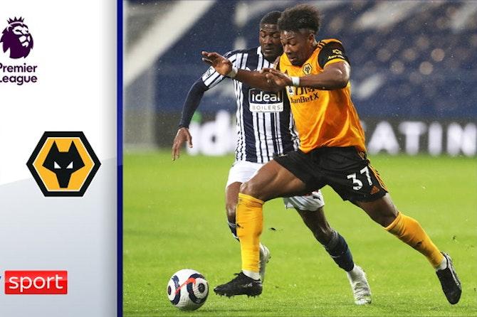 WestBrom taumelt Abstieg entgegen! | Highlights: West Bromwich - Wolverhampton 1:1