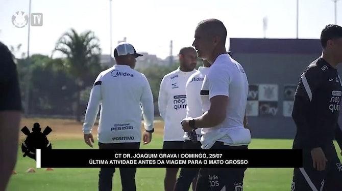 Imagem de visualização para Corinthians encerra preparação para duelo contra o Cuiabá no Brasileirão