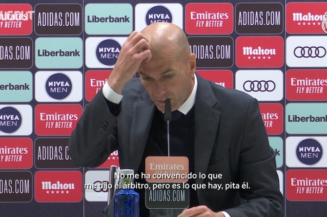 Zinedine Zidane: 'Me tienen que explicar las reglas de las manos'