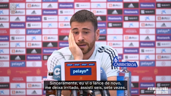 """Imagem de visualização para Goleiro da Espanha explica erro contra a Croácia: """"errei o domínio"""""""