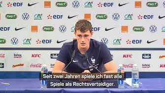 """Vorschaubild für  Pavard: """"Habe bei Bayern Selbstvertrauen bekommen"""""""