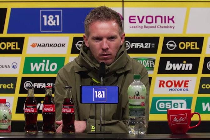 Nagelsmann: Das bedeutet das 2:3 fürs Pokalfinale