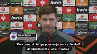 """Image d'aperçu pour  Gr. A - Steven Gerrard : """"Lyon devrait être en Champions League"""""""