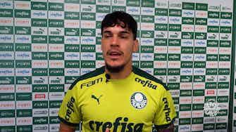 Imagem de visualização para Gómez fala da importância de vitória para ambiente no Palmeiras e projeta duelo contra o Ceará