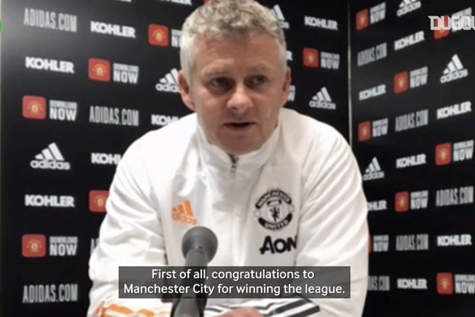 Ole Gunnar Solskjaer: 'Manchester City worthy Premier League champions'