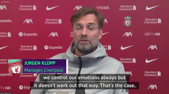 Preview image for Klopp 'completely relaxed' about Mane snub