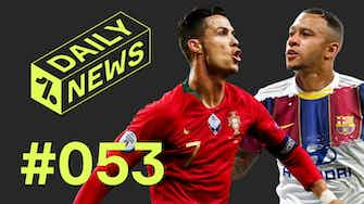 Preview image for Cristiano breaks ANOTHER record + Depay to join Barcelona?
