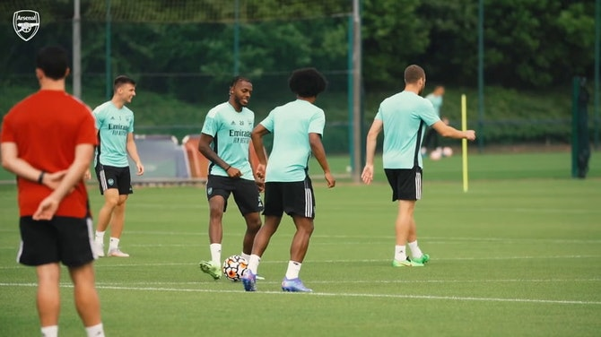 Preview image for Aubameyang and stars prepare for Chelsea pre-season clash