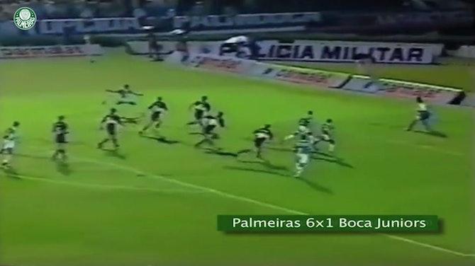 Preview image for Roberto Carlos' incredible goal against Boca Juniors