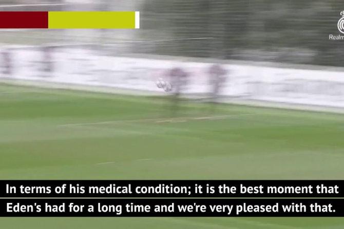 Martinez confident in seeing the best Hazard at the Euros