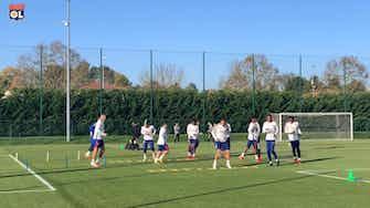 Image d'aperçu pour L'Olympique Lyonnais prépare le match de Lens