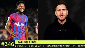 Preview image for Fati shines for Barcelona!