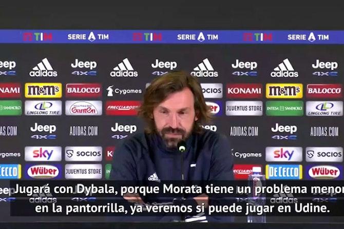 """Pirlo: """"Cristiano Ronaldo está totalmente motivado"""""""