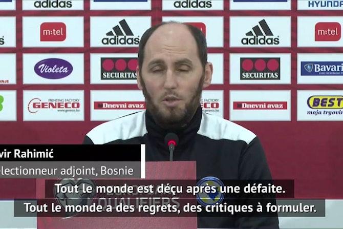 """CdM-2022 - Rahimić : """"On perd contre la meilleure équipe du monde"""""""